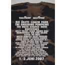 Rock am Ring Festival 2007 T-Shirt Tshirt Band Rock Metal Ärzte Linkin Park L