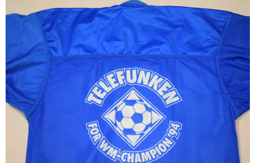 Telefunken WM 1994 Football Eishockey Trikot USA 94 T-Shirt Tshirt Vintage 90er ca. XL