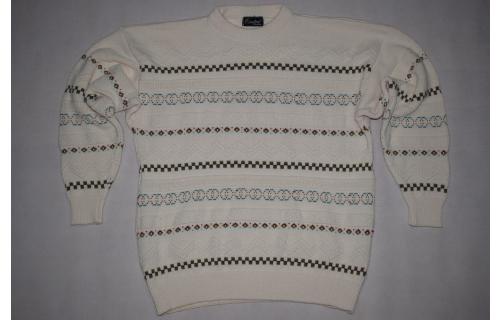Strick Pullover Strick Pulli Sweater Hipster Sweatshirt Vintage Knit 90er ca S-M