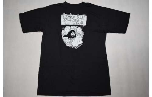 Poison Idea Vintage just get away 80s 90s T-Shirt Hardcore Punk Band XL NEU NEW
