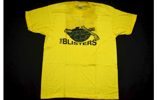 The Blisters Vintage Band T-Shirt Hardcore Punk Deadstock Screen Stars XL NEU #2