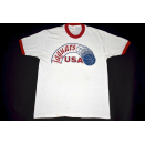South Alabama Jaguars USA T-Shirt 80s Ebert Sportswear...
