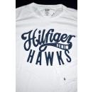 Tommy Hilfiger Denim Hawks T-Shirt TShirt Longsleeve Weiß White M