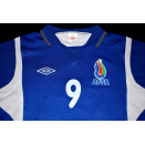 Umbro Aserbaidschan AFFA Trikot Jersey Maglia Camiseta Maillot Azerbaycan #9 S