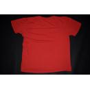 Tommy Hilfiger T-Shirt TShirt Vintage VTG Oldschool Casual 90s 90er Red Rot L