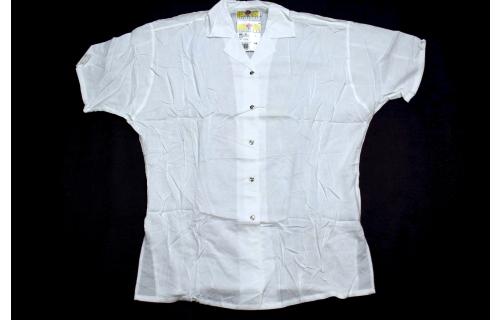 Benger Button Down Hemd T-Shirt Vintage 90er Benger Sportswear Viskose 40 NEU