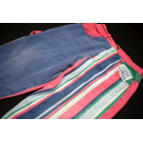 Guess kurze Hose Shorts Short Jeans Pant Vintage Colour Pastel Stipes Streifen 3 Y