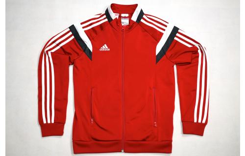 Adidas Windbreaker Track Top Sport Jacke Jumper Jacket 2015 Rot Red D 152 Kids M