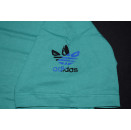 Adidas T-Shirt TShirt Vintage Deadstock 90er 90s Trefoil Grün Grafik Graphik S