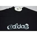 Adidas T-Shirt TShirt Vintage Deadstock 90er Trefoil Spellout Grafik Graphik  S