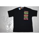 Adidas T-Shirt TShirt Vintage Deadstock 90er Trefoil NEON...