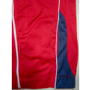 Asics Trainings Sport Anzug Track Top Jump Suit Jogging Casual Retro Rot M-L