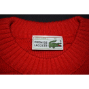 Lacoste Pullover Pullover Sweatshirt Sweater Vintage 90er Wolle Winter Kids 10