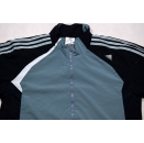 Adidas Trainings Jacke Sport Jacket  Track Top Soccer Jumper Mesh Casual Grau M