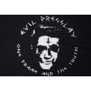 Roots Music T-Shirt Evil Presslay One Frame and the Truth Tour Punk Rock Band M