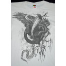 2x Metal Death Core Shirts Here comes the Kraken As i lay dying T-Shirt TShirt S