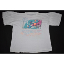 Dire Straits T-Shirt On every Street european Tour 1992 90s Rock Vintage ca. XL