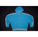 Adidas Trainings Jacke Pullover Sweater Sport Jacket Jumper Vintage Velour 90s S