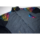 Jeronimo Jacke Fleece Sweater Jacket Winter Funky Rainbow...