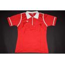 Erima Trikot Jersey Maglia Camiseta Polo Vintage West Germany Damen Rot 46-48 NEU
