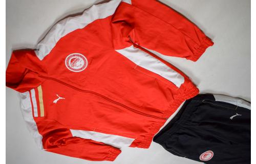 Puma Olympiakos Piräus Trainings Anzug Sport Track Jump Suit Peiraios 152 Kids L