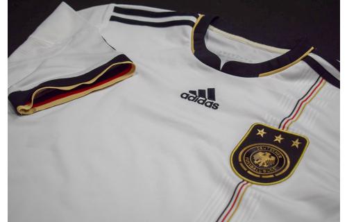 Adidas Deutschland Trikot Jersey DFB WM 2010 10 Weiß T-Shirt Maglia Camiseta XL