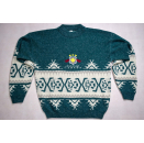Strick Pullover Pulli Sweater Knit Sweatshirt Vintage Canada Maple Leaf 90s L-XL