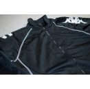 Kappa Trainings Jacke Track Top Sport Jacket Jumper Vintage 90s Casual Schwarz M