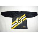 NHL Boston Bruins Trikot Jersey Maglia Camistea CCM Vintage Allover Print S/M