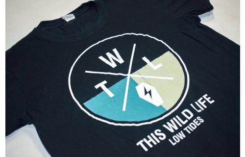 This Wild Life T-Shirt Low Tides 2016 Tour Rock Pop Punk Band Accoustic TWL Gr M