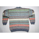 Strick Pullover Pulli Sweater Hipster Knit Sweatshirt Vintage 90s Wolle Italia L