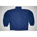 Adidas Jacke Jacket Blousson Sport Training Blau Blue Vintage 90s 90er Rare L-XL