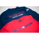 2x Polo Sport Jeans Ralph Lauren T-Shirt Spellout...