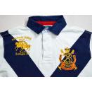Polo T-Shirt TShirt Ralph Lauren Club Big Logo Stitched Bleeker Custom Fit Gr. M