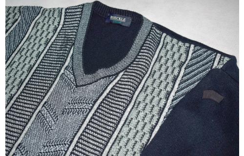 Strick Pullover Pulli Sweater Knit Sweatshirt Jumper Graphik Grafik Vintage 52 L