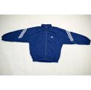 Adidas Trainings Jacke Sport Jacket Track Top Jumper Vintage 90er Mesh Blau 8 L
