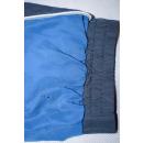 Trainings Anzug Track Suit Vintage Bad Taste Mesh Grau Glanz Shiny Karneval L