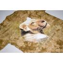 Vintage T-Shirt  Lion Habitat Las Vegas MGM Grand Casino Animal Print Löwe ca. M