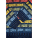 Strick Pullover Pulli Sweater Sweatshirt Oldschool Vintage Graphik 80s 90s M-L
