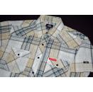 Dickies Polo Hemd Shirt Business Button Up Down kariert...