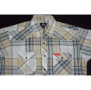 Dickies Polo Hemd Shirt Business Button Up Down kariert Work Fashion Vintage L