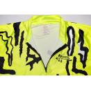 Harrison Megatec Rad Trikot Jersey Maglia Maillozt Camiseta Shirt Vintage NEON L
