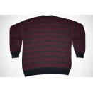 Strick Pullover Pulli Sweater Knit Sweatshirt Vintage Monello Merino Wolle 52 L