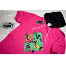Puma T-Shirt TShirt Kapuze Hoodie Vintage Deadstock 90s 90er Comic Kids 152 NEU