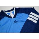Adidas Trikot Jersey Maglia Camiseta Maillot Maglia Shirt Vintage Blau 90er  XL