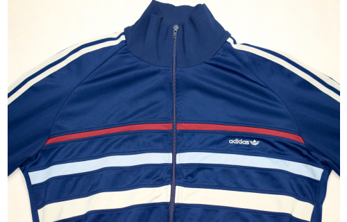 Adidas Trainings Jacke Sport Jacket Track Top Casual Style 80s Vintage Cupro L