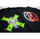 2x D-Generation RVD T-Shirt WWE Wrestling American DX...