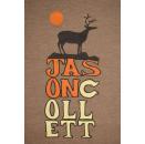 Jason Collett T-Shirt Tour Band Singer Songwriter TShirt Toronto Canada Gr. M