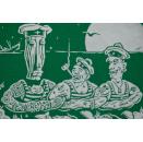 Three Lombego Surfers T-Shirt Tour Rock Band Still got the night Grün Green M