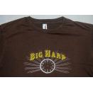 Big Harp T-Shirt Tour Alternative Indie Pop Rock Band Braun Saddle Creek USA M